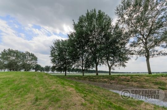 Aardzee landschapskunstwerk Lelystad